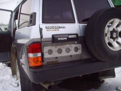 Продам дверь заднюю в сборе Nissan Safari/Patrol WGY60 (15 000км)