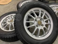 Легкие A-Tech Final Mind R14 4*100 4.5j + 165/60R14 Dunlop Winter Maxx