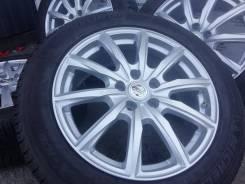 Оригинальные литые диски Nissan на шинах Michelin 225/55R18