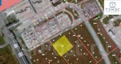 Перспективный земельный участок рядом с международным аэропортом. 6 000кв.м. План (чертёж, схема) участка