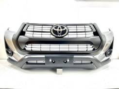 Бампер передний Toyota Hilux Pick Up GUN125 c 2020+