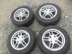 Летние колеса: шины 185/65R14 Hankook на литье RW 4x114,3.