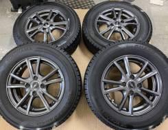 Weds NV R14 4*100 5.5j et45 + 165/70R14 Dunlop Winter Maxx WM01 japan