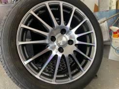 Eco Forme R16 4*100 6.5j et53 Japan + 205/55R16 Kumho Solus kh17