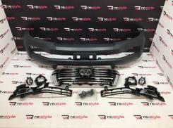 Бампер передний Toyota Land Cruiser 200 08-15 стиль 2016 Под покраску
