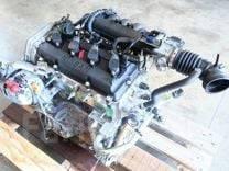 Контрактный Двигатель Nissan, проверенный на ЕвроСтенде в Москве.
