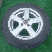 Диски литые Weds Treffer R14, 4-100 + зимние шины 175/65R14