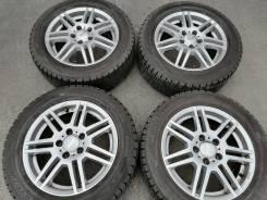 Отличная зима Dunlop 205/55 R16 на литье ATS 5/112