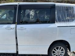 Дверь белая (070) Zs-Kirameki задняя левая Toyota Voxy ZRR75 92000km