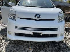 Бампер в сборе белый (070) Zs-Kirameki перед Toyota Voxy ZRR75 92000km