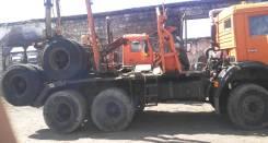 КамАЗ 6426. Продаётся лесовоз, 10 850куб. см., 6x6