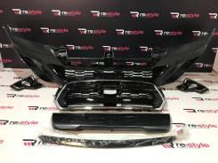 Бампер передний Toyota Hilux Pick Up 15-17г. стиль 18г. Под покраску