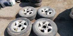 "Комплект колес Sportage/NIVA/Escudo 205/70 R15 (5x139,7). 6.5x15"" 5x139.70 ET45 ЦО 98,0мм."