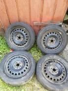"""Продам комплект летних колёс на дисках 16""""(5*100) 205/55/16"""