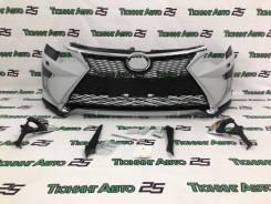 Бампер в стиле Lexus для Toyota Camry (камри) 55