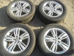 Зимние колеса: шины 215/60R17 Nokian на литье Audi 5x112.