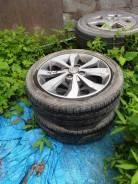 Продам резину с литьем 165/55/15 + диски R15 Nissan