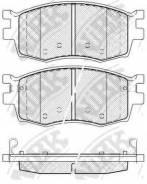 Колодки дисковые передние! Kia Rio II 1.4i/1.6i 16V/1.5CRDi 05 NIBK PN0435 PN0435-NIBK_ PN0435