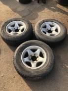 Комплект из 3х колес 245.70R16 Bridgestone 2008 год