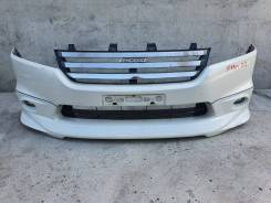 Бампер передний Honda Stream rn4 rn5 rn6 в сборе.