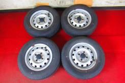 Шикарный Комплект Колёс Лето 145/80/12 Dunlop R12; 4x100