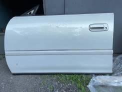Дверь левая передняя без шпатли родная краска Mark jzx100