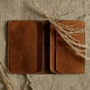 Обложка на паспорт/докхолдер из натуральной кожи / Подарок мужчине