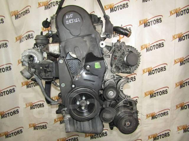 Контрактный двигатель Фольксваген Пассат 1,9TDI AVF