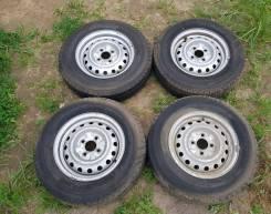 Колеса диски с резиной Nissan AD Y12 R13LT без пробега по РФ.