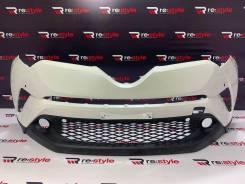 Бампер передний Toyota CH-R (NGX10) 2016-2019 год , белый (0007)