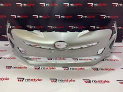 Бампер передний Toyota Prius (XW50) 2015-2019 год серебро (0010)