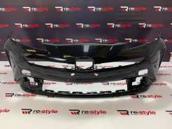 Бампер передний Toyota Prius (XW50) 2018-н/в черный (0011)