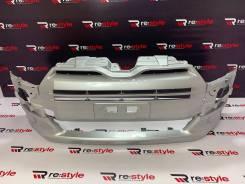 Бампер передний Toyota Probox/Succeed 2014-н/в серебро (0017)