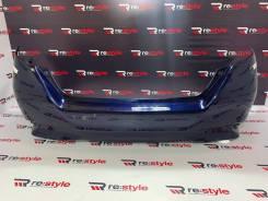 Бампер задний Toyota Sai(K10) 13-17 год 2 мод синий (0024)