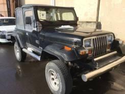 Бампер передний (самодельный) Jeep Wrangler YJ