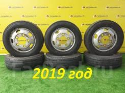 """Колёса грузовые Dunlop Enasave SPLT50 205/70/R16 LT. 5.5x16"""" ЦО 145,0мм."""