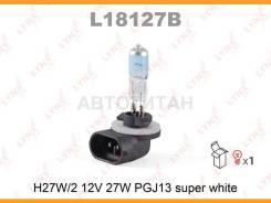 Лампа H27W/2 12V PGJ13 Super White 881 12V 27/2 W PGJ13 Super White   LYNXauto L18127B   L18127B