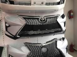 Бампер в стиле Lexus для Toyota Camry 50/55 (2011-2018)