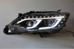 Передние фары в стиле Mercedes для Toyota Camry 50/55 (2011-2018)