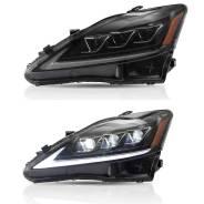 Фары трехлинзовые для Lexus IS 250 (2005-2013)
