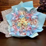 Подарок девушке учителю Воспитателю букет из конфет на 1 сентября