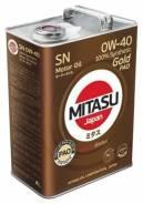 Mitasu Gold. 0W-40, синтетическое, 20,00л. Под заказ