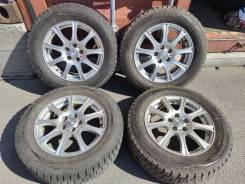 Отличная зима Dunlop 195/65 R15 на литье 5/100