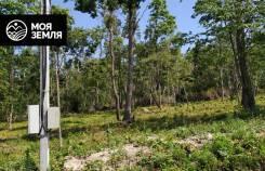 """Земельный участок 10 сот в эко-поселке """"Парк Западный"""". 1 000кв.м., собственность, электричество. Фото участка"""