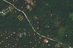 Отличный участок 10 соток для строительства дома. 1 000кв.м., собственность. План (чертёж, схема) участка