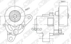 Натяжитель Приводного Ремня Mmc Asx/Lancer/Outlander/Rvr 07- Sat арт. ST-1345A090 ST1345A090