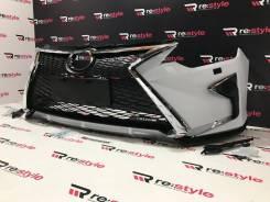 Бампер передний Toyota Camry 50 2м 14-17г Lexus Style Под покраску