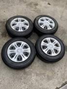 Комплект летних колес на железных дисках 185 70 14 Note E12. RS99