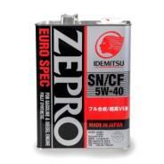 Idemitsu Zepro. 5W-40, синтетическое, 4,00л.