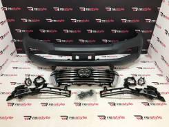 Бампер передний Toyota Land Cruiser 200 08-15г Стиль 16г Под покраску